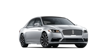 The 2020 Lincoln Continental Reserve model is shown in the Silver Radiance exterior color